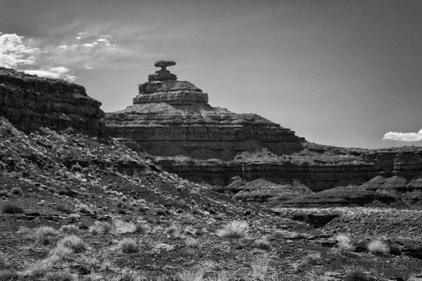 Mexican Hat Art Print featuring the photograph Mexican Hat by Medicine Tree Studios