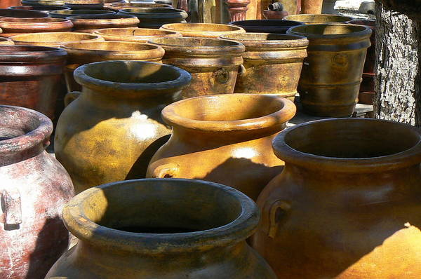Pots Art Print featuring the photograph Mexican Pots Iv by Scott Alcorn