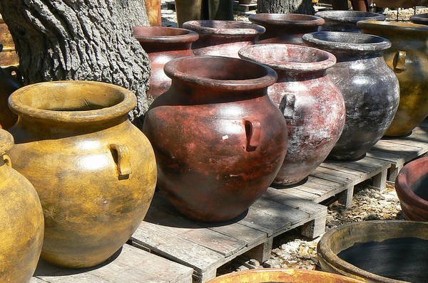Pots Art Print featuring the photograph Mexican Pots V by Scott Alcorn