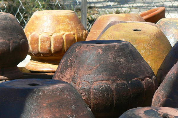 Pots Art Print featuring the photograph Mexican Pots Vi by Scott Alcorn