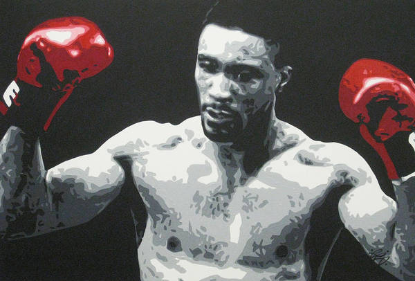 Michael Watson Art Print featuring the painting Michael Watson by Geo Thomson