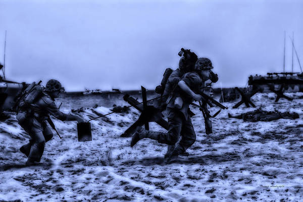 Surrealist Art Print featuring the photograph Midnight Battle Stay Close by Thomas Woolworth