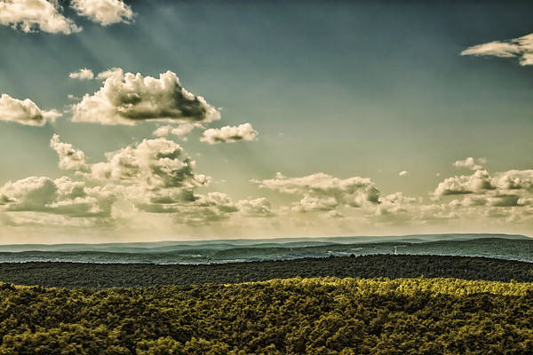 Landscape Art Print featuring the photograph Mile's Between Us. by Rob Dietrich