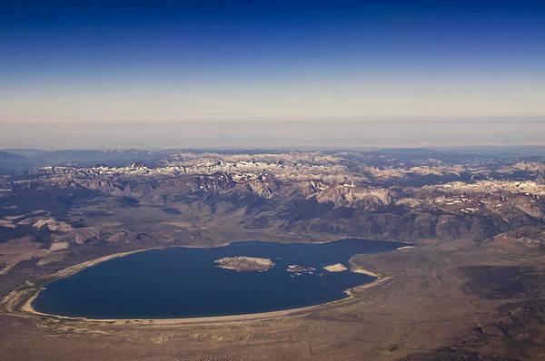 Mono Lake Art Print featuring the photograph Mono Lake And The High Sierras by Scott Lenhart