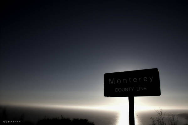 Monterey Sunset Art Print featuring the photograph Monterey Sunset by Edward Smith