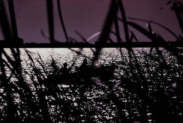 Boat Art Print featuring the photograph Moonlight Fisherman by Christy Usilton