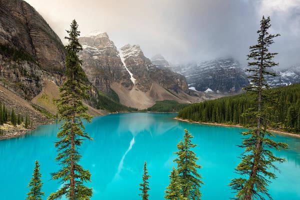 Moraine Lake Banff National Park Alberta Canada Art Print