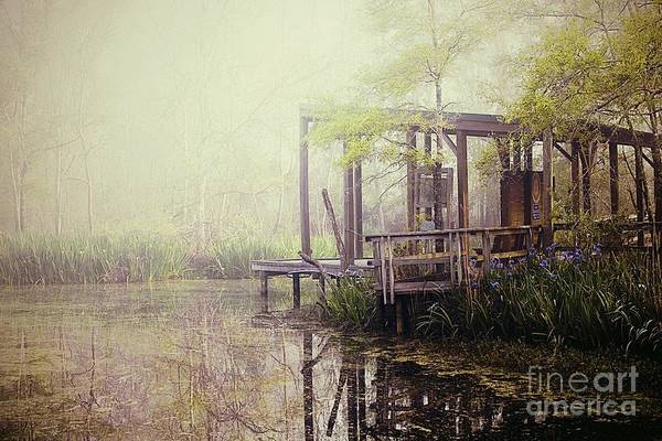 Fog Art Print featuring the photograph Morning At The Nature Center by Katya Horner