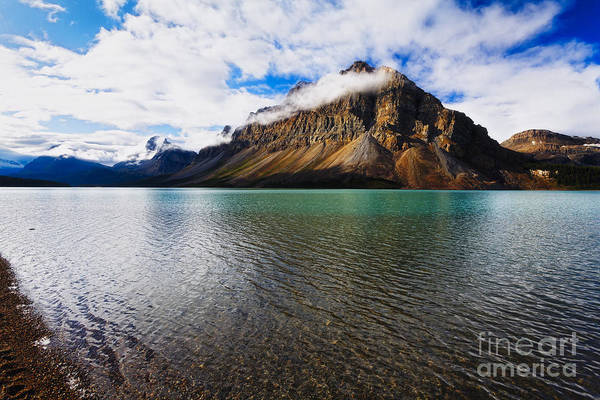Alberta Art Print featuring the photograph Mountain Lake Scenic by George Oze