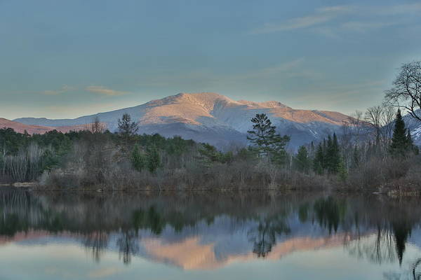 Mountains Art Print featuring the photograph Mt Lafayette Reflections by Duane Cross