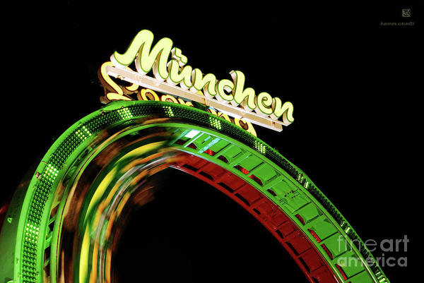 Looping Art Print featuring the photograph Munich Looping by Hannes Cmarits