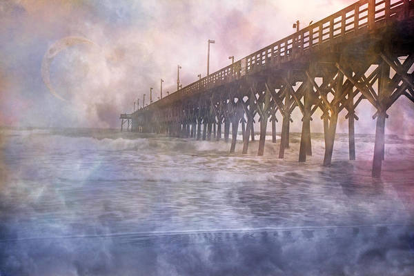 Topsail Print featuring the photograph Mystical Morning by Betsy Knapp