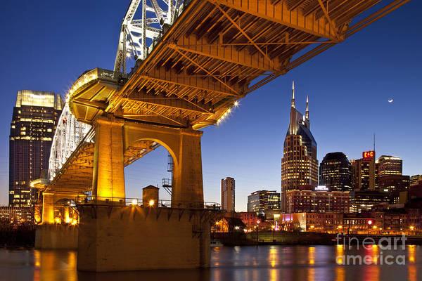 Nashville Art Print featuring the photograph Nashville Tennessee by Brian Jannsen