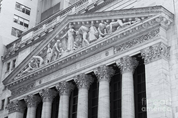 Clarence Holmes Art Print featuring the photograph New York Stock Exchange II by Clarence Holmes