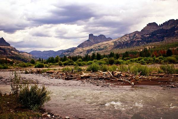 Rivers Art Print featuring the photograph North Of Dubois 3 by Marty Koch