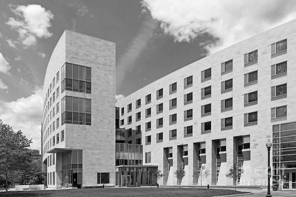 African-american Institute Art Print featuring the photograph Northeastern University O' Bryant African American Institute by University Icons