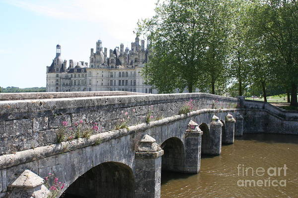 Palace Art Print featuring the photograph Northwest Facade Of The Chateau De Chambord by Christiane Schulze Art And Photography