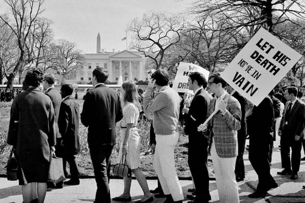 Civil Rights Art Print featuring the photograph Not In Vain by Benjamin Yeager