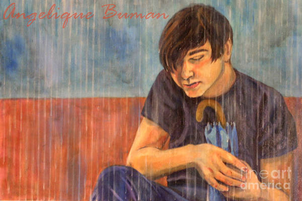 Boy Art Print featuring the painting Oh Brother by Angelique Bowman