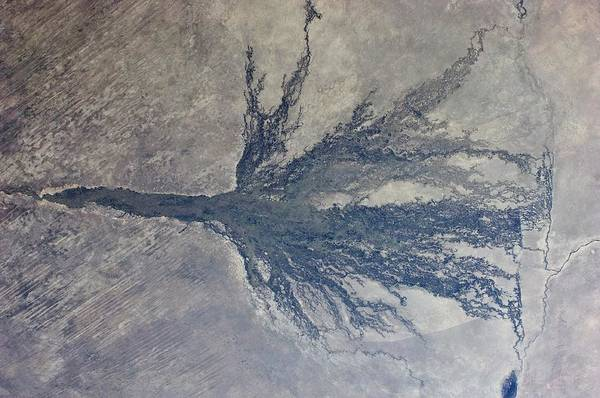 Planet Art Print featuring the photograph Okavango by Nasa/science Photo Library