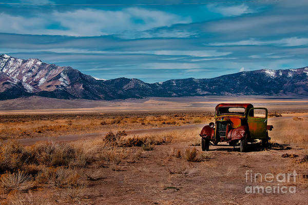 Transportation Art Print featuring the photograph Old Pickup by Robert Bales