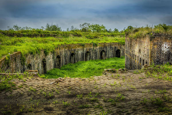 Fort Macomb Art Print featuring the photograph On Top Of Fort Macomb by David Morefield