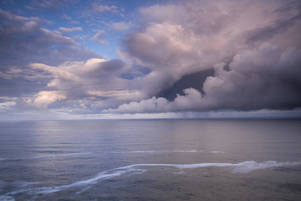 Clouds Art Print featuring the photograph Opening Clouds by Andrew Soundarajan