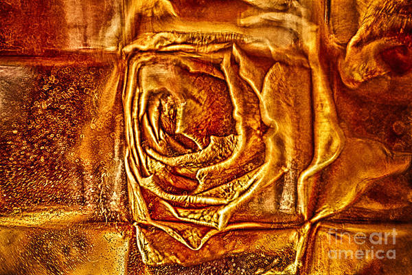 2x3 (4x6) Print featuring the photograph Orange Rose by Omaste Witkowski