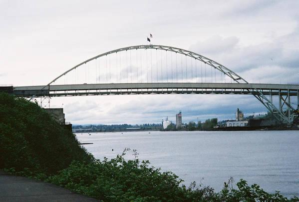 Oregon Art Print featuring the photograph Oregon Bridge by Jeri lyn Chevalier
