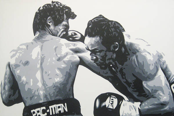 Pacman Art Print featuring the painting Pacman Marquez by Geo Thomson