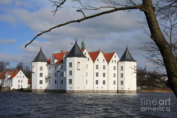 Palace Art Print featuring the photograph Palace Gluecksburg - Germany by Christiane Schulze Art And Photography