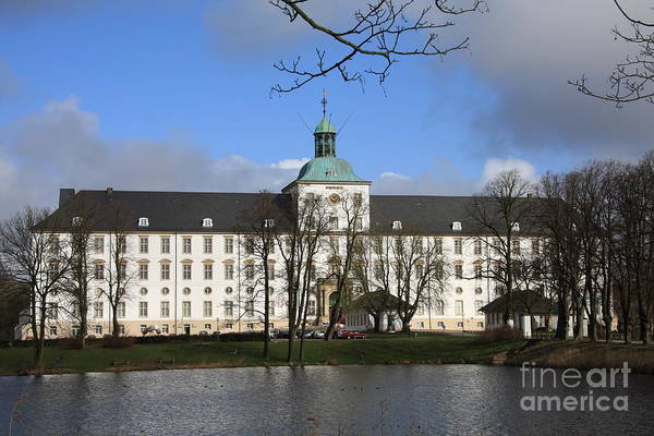 Palace Art Print featuring the photograph Palace Gottorf - Schleswig by Christiane Schulze Art And Photography