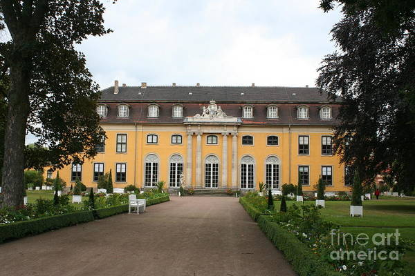 Palace Art Print featuring the photograph Palace Mosigkau - Germany by Christiane Schulze Art And Photography