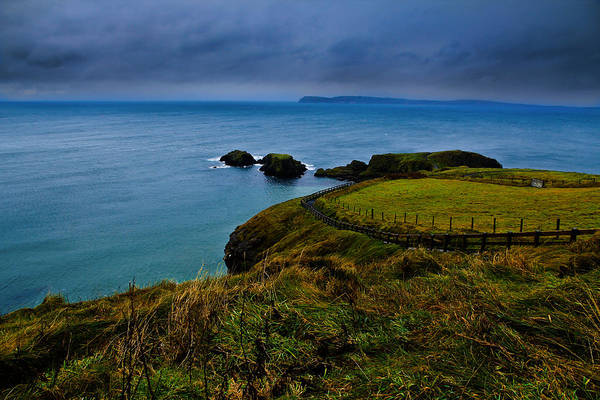 Ireland Art Print featuring the photograph Path To The Bridge by Justin Albrecht