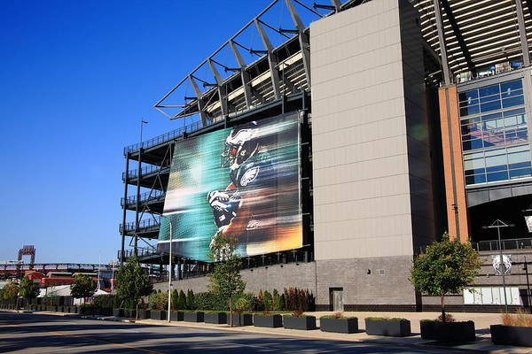 America Art Print featuring the photograph Philadelphia Eagles - Lincoln Financial Field by Frank Romeo