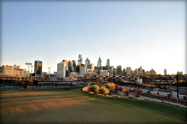 Philadelphia Art Print featuring the photograph Philadelphia From South Street by Bill Cannon