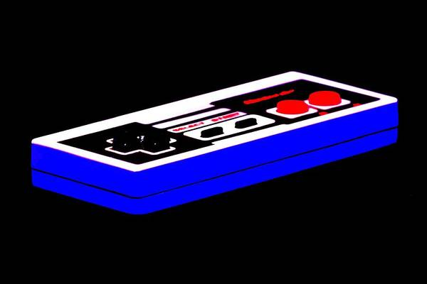 Nintendo Art Print featuring the photograph Playing With Power by Benjamin Yeager