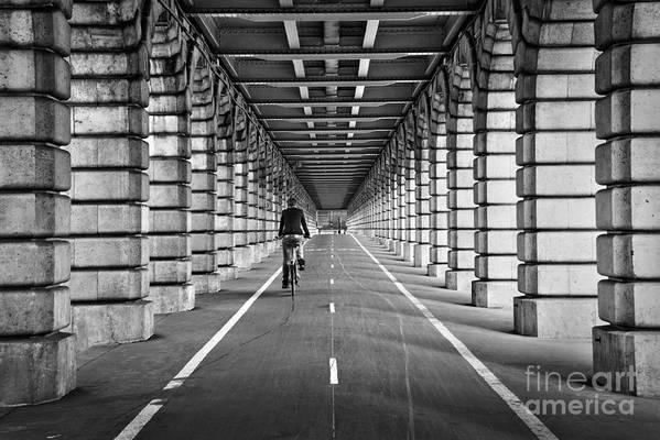 Paris Art Print featuring the photograph Pont De Bercy by Delphimages Photo Creations