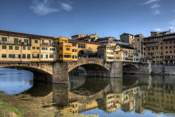 Florence Art Print featuring the photograph Ponte Vecchio by Maico Presente