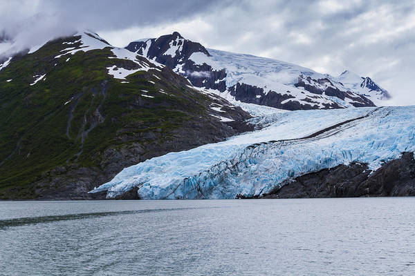 Alaska Art Print featuring the photograph Portage Glacier by Kyle Lavey