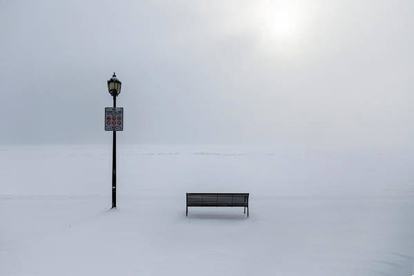 Bench Art Print featuring the photograph Prohibitions by Stefano Cicali