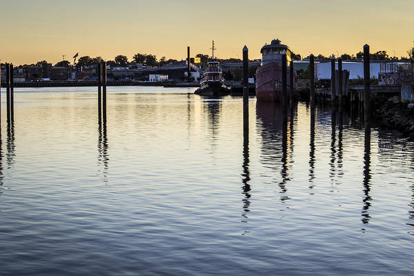 Andrew Pacheco Print featuring the photograph Providence Waterfront by Andrew Pacheco