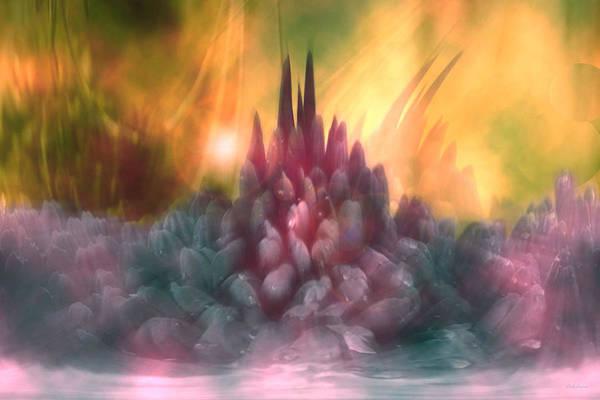 Abstract Art Print featuring the digital art Psychedelic Tendencies  by Linda Sannuti
