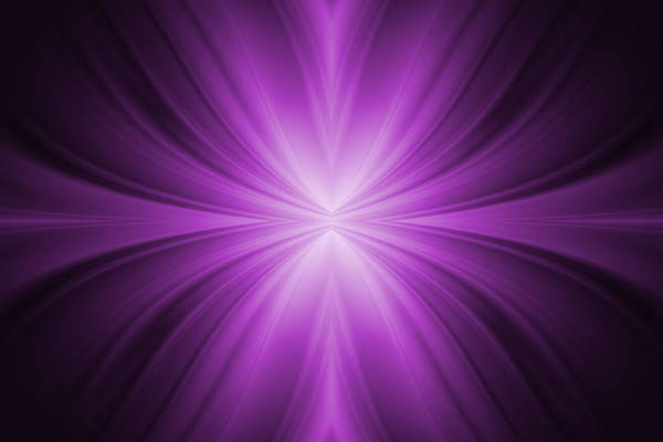 Abstract Art Print featuring the tapestry - textile Purple Abstract Background by Somkiet Chanumporn
