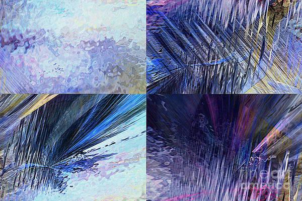 Hotel Art Art Print featuring the digital art Quartet by Margie Chapman