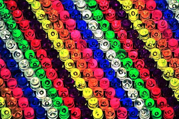photo regarding Lite Brite Free Printable Patterns known as Rainbow Brite Artwork Print