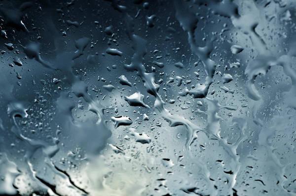 Raindrops Art Print featuring the photograph Raindrops by Fabrizio Troiani