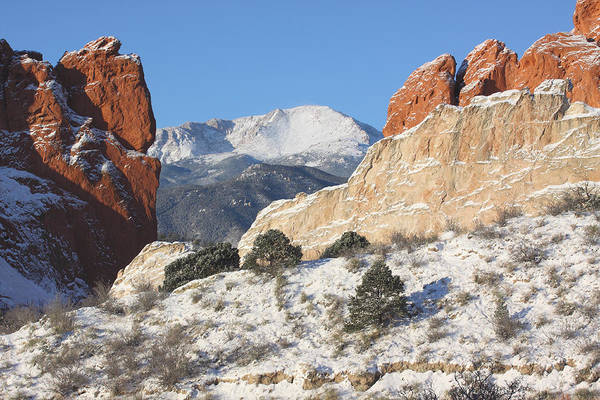 Colorado Art Print featuring the photograph Red White And Blue by Eric Glaser