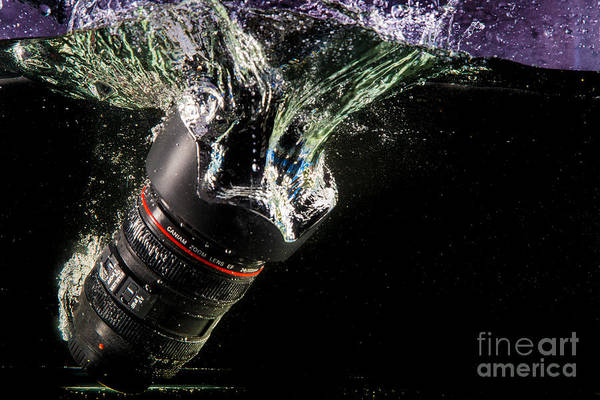 Lens Art Print featuring the photograph Regrets by Rene Triay Photography