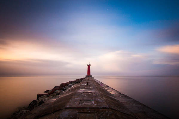 Lake Michigan Art Print featuring the photograph Revelations by Daniel Chen
